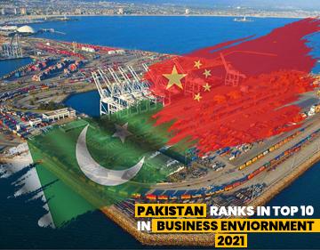 Pakistan ranks top 10 in business environment