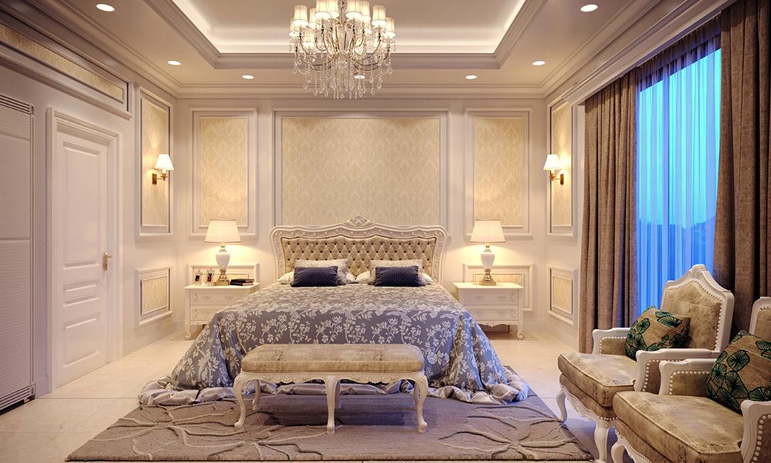 Indigo Bed Room